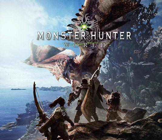 monster hunter world copertina