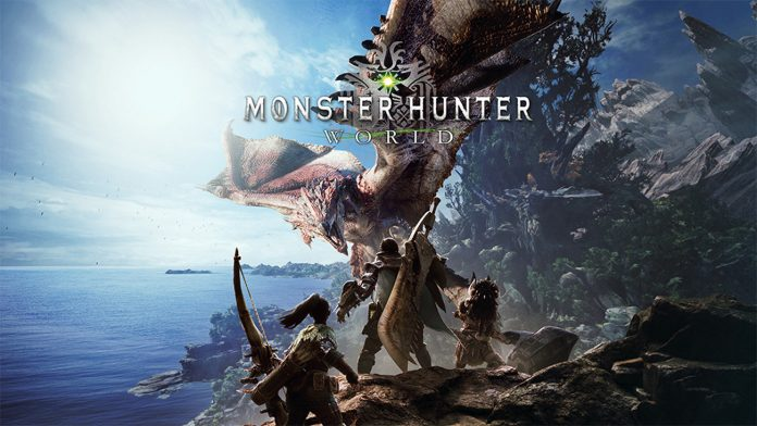 monster hunter world copertina